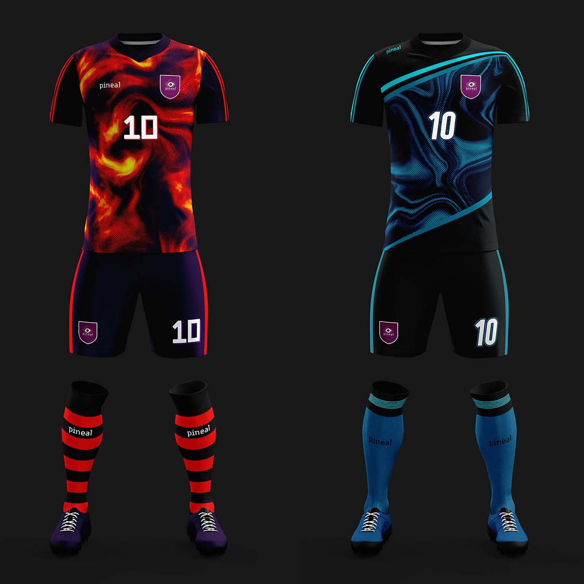 Pineal soccer kits